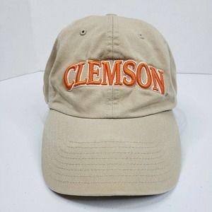 Vintage Clemson Tigers Strapback Hat Cap Mens XL